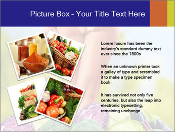 Slim Woman Vegetarian PowerPoint Templates - Slide 23