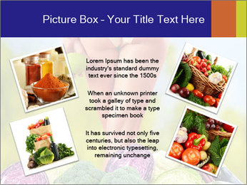 Slim Woman Vegetarian PowerPoint Templates - Slide 24