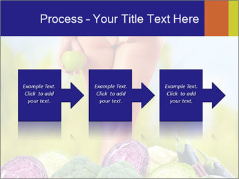 Slim Woman Vegetarian PowerPoint Templates - Slide 88