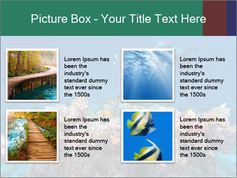 Professional Diver PowerPoint Template - Slide 14