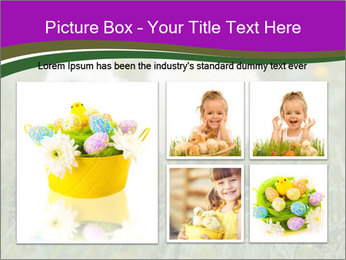 Two Cute Chickens PowerPoint Template - Slide 19