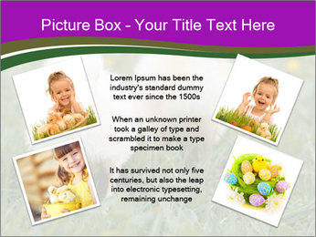 Two Cute Chickens PowerPoint Template - Slide 24