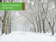 Winter Park PowerPoint Templates