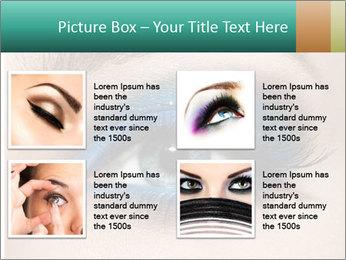 Macro Makeup PowerPoint Template - Slide 14