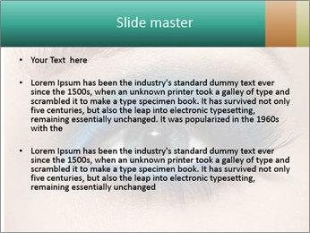 Macro Makeup PowerPoint Template - Slide 2