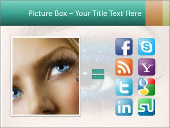 Macro Makeup PowerPoint Template - Slide 21