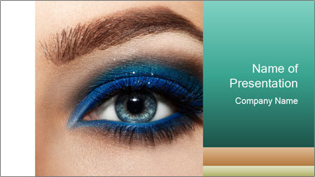 Macro Makeup PowerPoint Template