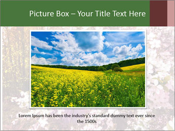 Pink Tree Blossoming PowerPoint Template - Slide 15