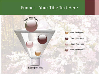 Pink Tree Blossoming PowerPoint Template - Slide 63