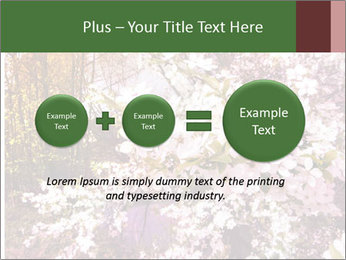 Pink Tree Blossoming PowerPoint Template - Slide 75