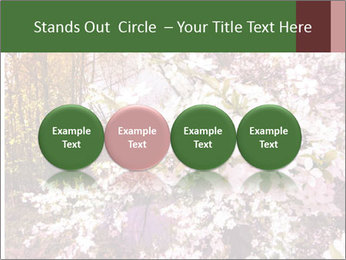 Pink Tree Blossoming PowerPoint Template - Slide 76