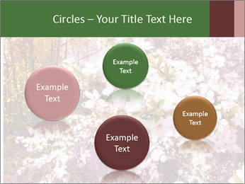 Pink Tree Blossoming PowerPoint Template - Slide 77