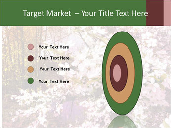 Pink Tree Blossoming PowerPoint Template - Slide 84