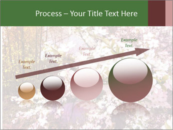 Pink Tree Blossoming PowerPoint Template - Slide 87