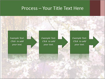 Pink Tree Blossoming PowerPoint Template - Slide 88