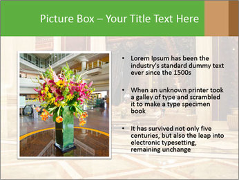 Hotel Hall PowerPoint Template - Slide 13