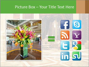 Hotel Hall PowerPoint Template - Slide 21