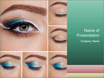 Modern Makeup PowerPoint Templates - Slide 1