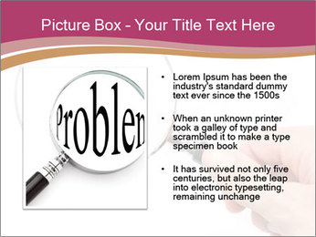 Detective With Loupe PowerPoint Templates - Slide 13