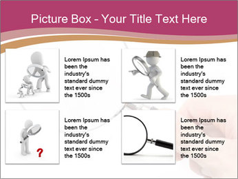 Detective With Loupe PowerPoint Templates - Slide 14