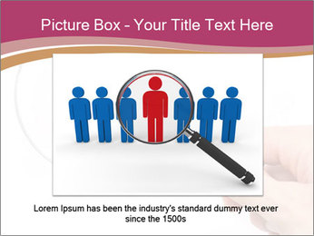 Detective With Loupe PowerPoint Templates - Slide 15