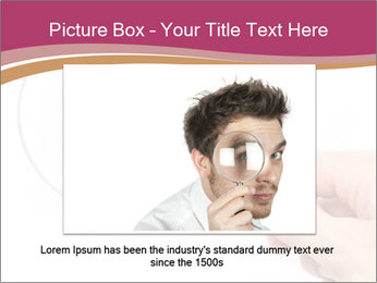 Detective With Loupe PowerPoint Templates - Slide 16