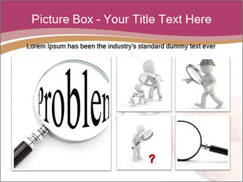 Detective With Loupe PowerPoint Templates - Slide 19