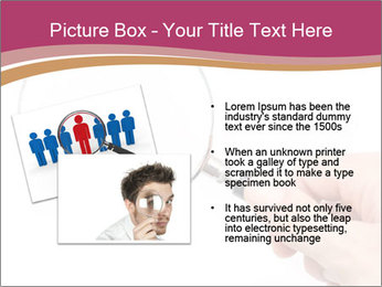 Detective With Loupe PowerPoint Templates - Slide 20