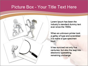 Detective With Loupe PowerPoint Templates - Slide 23