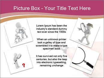 Detective With Loupe PowerPoint Templates - Slide 24