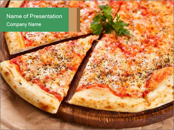 Pizza Time PowerPoint Templates - Slide 1