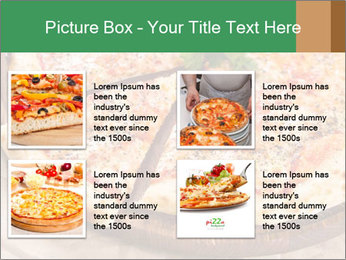 Pizza Time PowerPoint Template - Slide 14