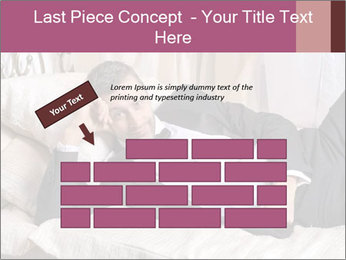 Macho In Bed PowerPoint Template - Slide 46