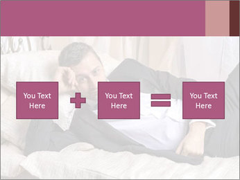 Macho In Bed PowerPoint Template - Slide 95