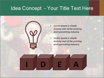 Magic Santa PowerPoint Template - Slide 80