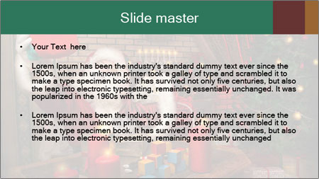 Magic Santa PowerPoint Template - Slide 2