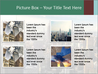 Panoramic City PowerPoint Template - Slide 14