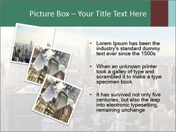 Panoramic City PowerPoint Template - Slide 17