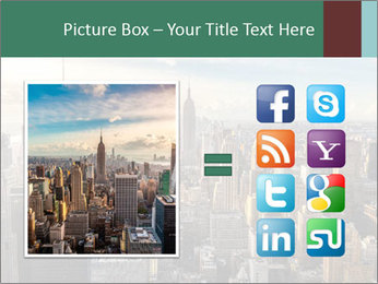 Panoramic City PowerPoint Template - Slide 21