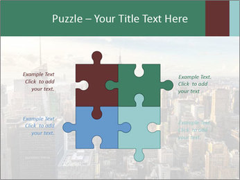 Panoramic City PowerPoint Template - Slide 43