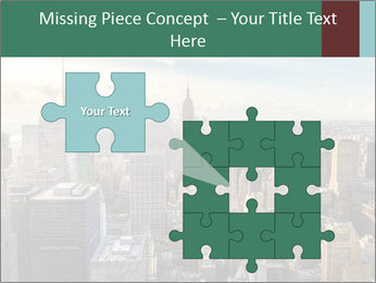 Panoramic City PowerPoint Template - Slide 45