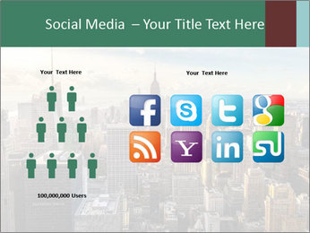 Panoramic City PowerPoint Template - Slide 5