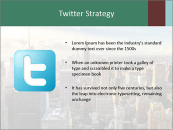 Panoramic City PowerPoint Template - Slide 9
