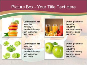 Sweet Tangerin PowerPoint Template - Slide 14