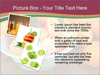 Sweet Tangerin PowerPoint Template - Slide 17