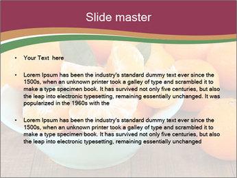 Sweet Tangerin PowerPoint Template - Slide 2