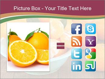 Sweet Tangerin PowerPoint Template - Slide 21