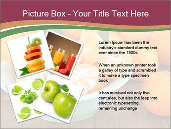 Sweet Tangerin PowerPoint Template - Slide 23