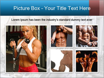 Gym Workout For Men PowerPoint Templates - Slide 19