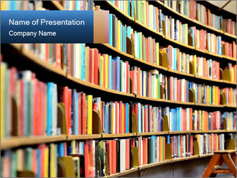 Endless Library PowerPoint Templates - Slide 1